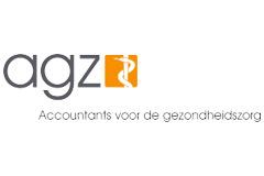 Logo van AGZ, een klant van KIT Krachtige Verbinding