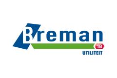 Logo van Breman, een klant van KIT Krachtige Verbinding