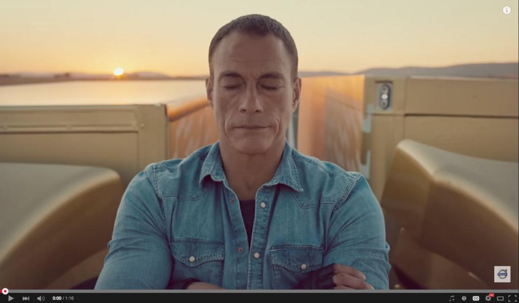 Still uit een reclame van Volvo