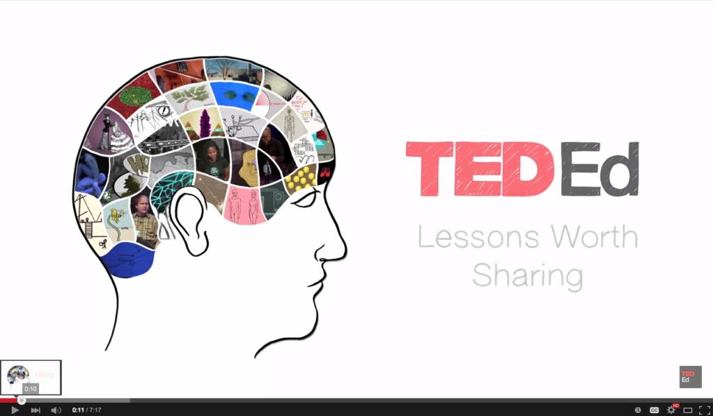 Still uit een TedX