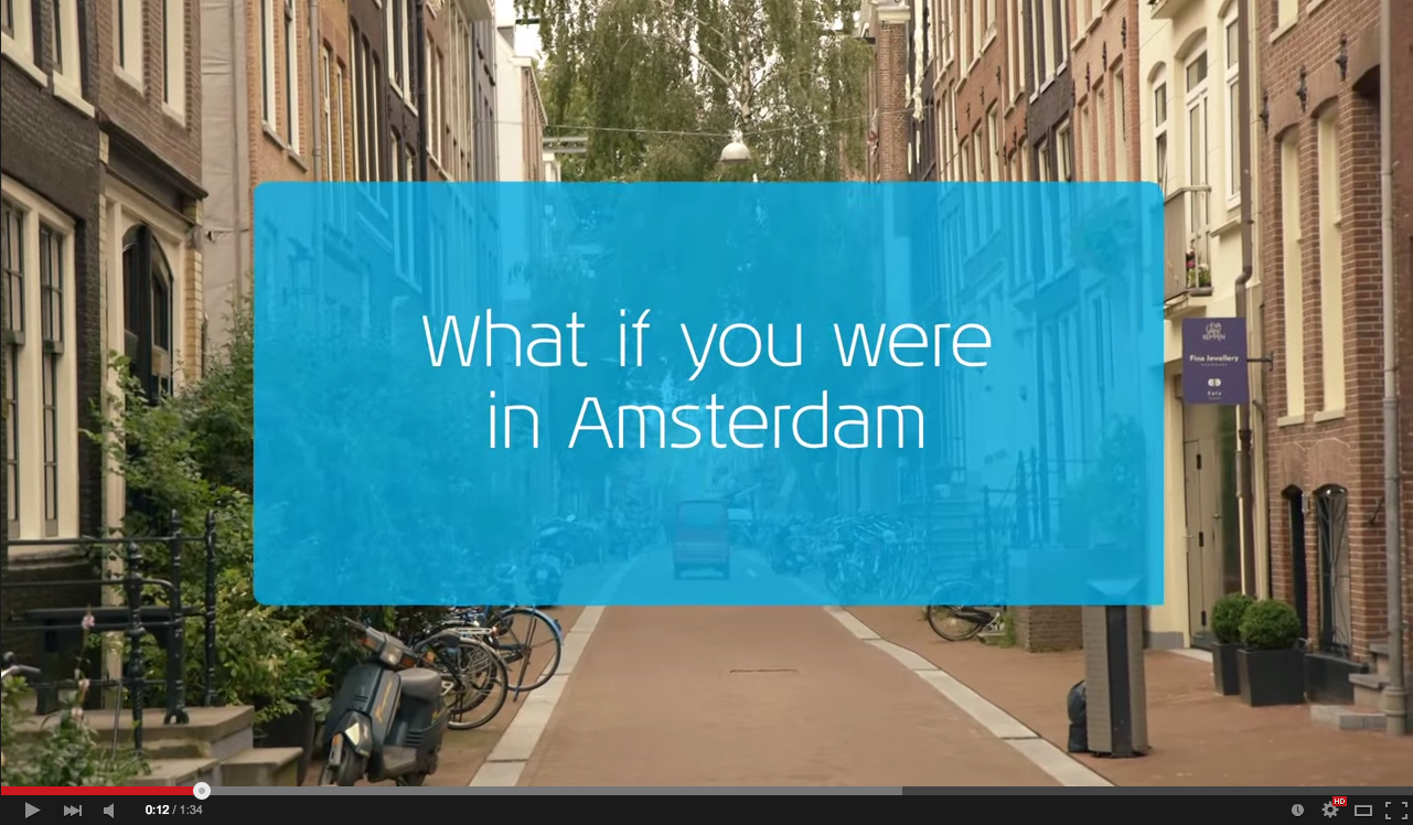 What if you were in Amsterdam?